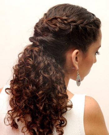 Comprar el medio de los cabellos en el cuerpo