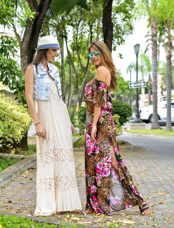Vestidos Largos Para El Día Moda Y Belleza La Revista