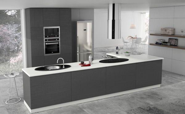 Cocinas que hablan solas vivienda y decoraci n la - Extractor cocina teka ...
