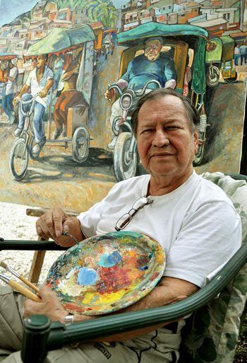 Pintor De Los Pueblos Costenos Cuerpo Y Alma La Revista El