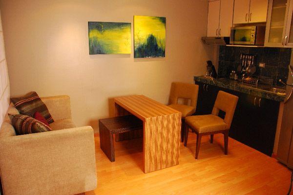 Peque os ambientes vivienda y decoraci n la revista for Sala cocina y comedor en un solo ambiente pequeno