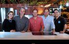 En la imagen, ejecutivos de Mabe Ecuador: Andrea Icaza, jefe de Marketing.