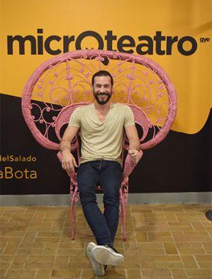Jaime Tamariz, director teatral y fundador de Microteatro GYE.