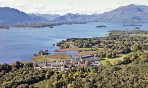 Lake Hotel (Irlanda). Situado en un paisaje fantástico.