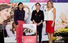 En la foto: Denisse Quinga, jefa de marca Mall del Sol; María Paula Mieles, coor
