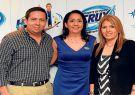 Julio Buzetta; Silvia Buzetta, presidente ejecutiva de Acruxza; y Gabriela Buzet