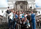 El evento fue realizado en el convento San Francisco de Quito, como parte del pr