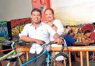 Pareja. Freddy y Miriam, artífices del éxito de La Culata.