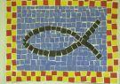 El ichtus o ichthys  es un símbolo que consiste en dos arcos que se intersecan d
