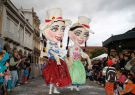 Festejo de Compadres y Comadres en Cuenca.