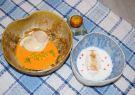 Ostra al vacío con jugo de seco de gallina, caviar y maduro.