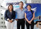 Janeth Freire, gerenta de Helados Topsy; Ricardo Terán, director Cuentas Claves.