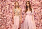 Michael Costello  presentó una primavera que florece en rosa pastel y tejidos