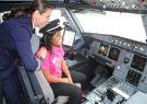 Gabriela, de 14 años,  cumplió una de sus aspiraciones cuando se integró a la tr