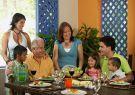 Adapte el tamaño de los platos de los niños.
