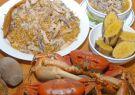 El cangrejo se presta para diferentes recetas de la cocina local.