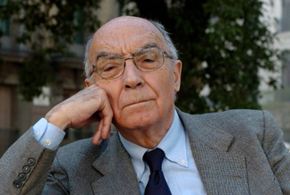 José Saramago (2010), autor de la novela  El último cuaderno.