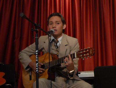 2008, auditorio del Museo de la Música Popular Julio Jaramillo.