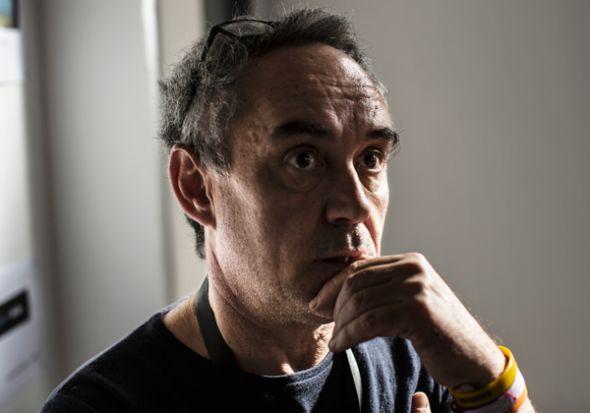 El icónico chef español Ferran Adrià.