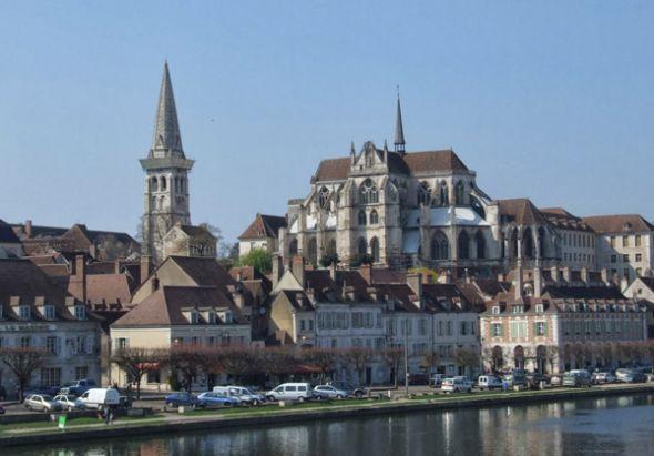 Iglesia y abadía de Saint Germain (Auxerre).