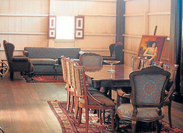 La Casa Museo exhibe ambientes hogareños del pasado.