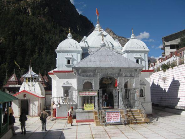 La vida espiritual de Gangotri gira en torno al templo de la diosa Ganga.