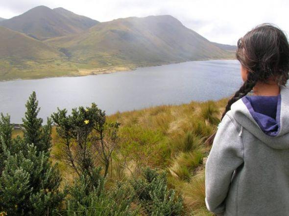 El Parque Nacional Llanganates cuenta con varias lagunas hermosas, como Pisayamb