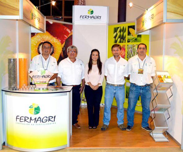 Julio Poveda, asesor comercial de Fermagri, importadora y distribuidora de ferti