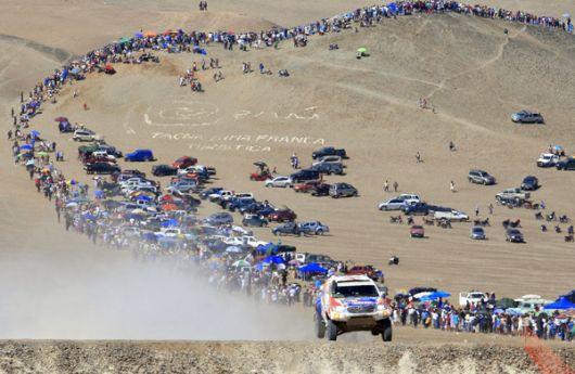 El rally Dakar recorrerá territorios argentinos y bolivianos.