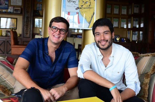 Francisco Ceballos y Andrés Landívar.