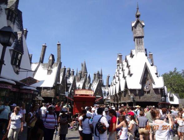 Mundo de Harry Potter, Islands of Adventure (Orlando, Florida).