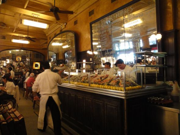 El Balthazar tiene un menú influenciado por la cocina francesa.