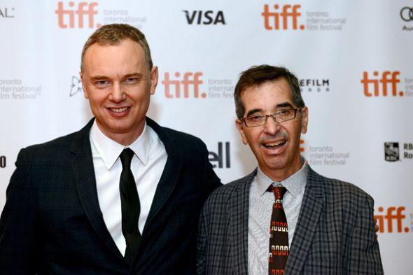 Los cineastas. Wash Westmoreland y Richard Glatzer (fallecido).