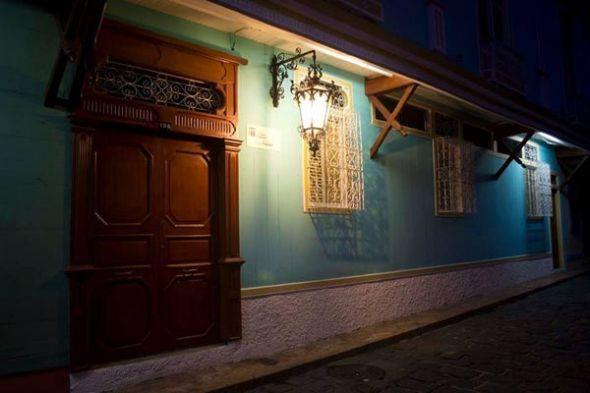 Fachada de la casa Cino Fabiani, en el barrio Las Peñas.