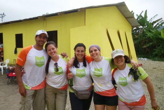 Voluntarios de Herbalife en Ecuador.