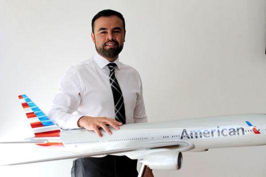 Edwin Rincón, gerente comercial de la aerolínea en Ecuador.