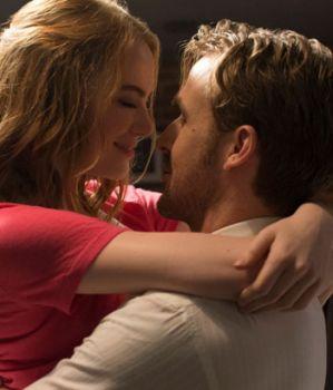Emma Stone y Ryan Gosling.