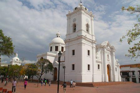 La catedral de Santa Marta fue construida en el año 1765.