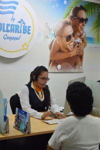 Sol Caribe privilegia la atención personalizada a los pasajeros.