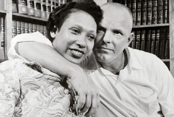 Los verdaderos Richard Loving y Mildred Jeter, en una foto de LIFE.