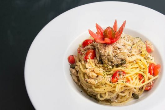 El spaghetti de cangrejo es una de las delicias de este local. Foto: Cortesía