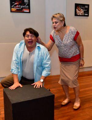 Martha Ontaneda y Marcelo Gálvez protagonizan Por el placer de volver a verla.