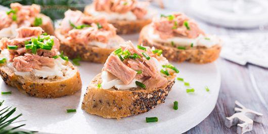 Atún o sardina.  Usted elige con qué producto participar, recuerde agregarle su