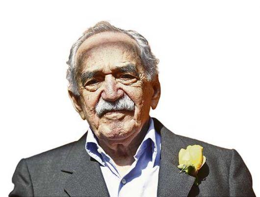 El escritor colombiano Gabriel García Márquez a sus 87 años.