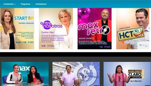 En vivo. MaxTV arrancó en enero con 28 producciones originales.