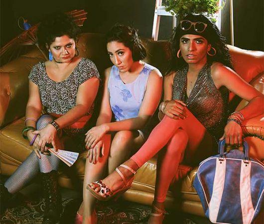 Las chicas del montón, con Ana Belén Durán, Ana Rivas y Jonathan Estrella.