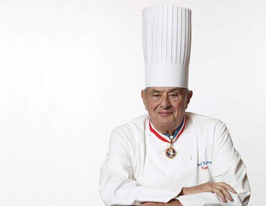 Paul Bocuse, el chef francés más famoso de la era de la posguerra.