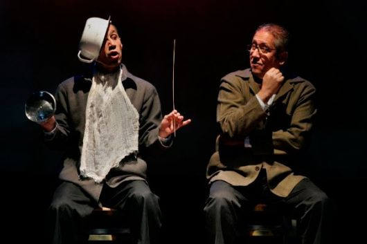 En La razón blindada, los actores Gerson Guerra y Arístides Vargas son Panza.