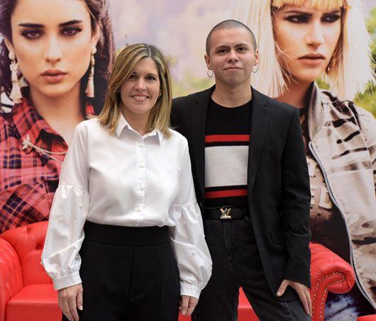 Allí estuvieron: Soledad Ponce, gerenta sénior de marketing, y Esteban Pomar.
