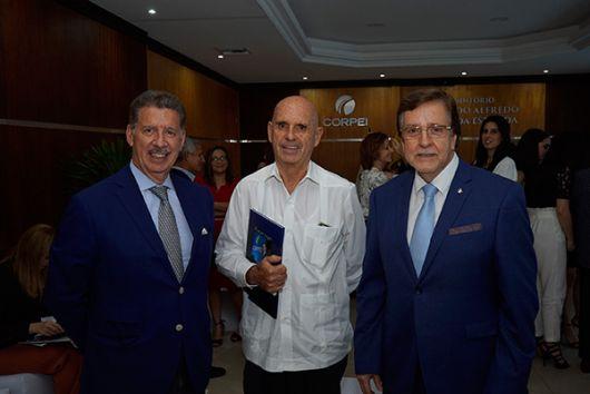 Allí estuvieron Roberto Aspiazu Estrada, director del Comité Empresarial.
